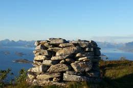 Varden på toppen - Foto: Espen Maruhn