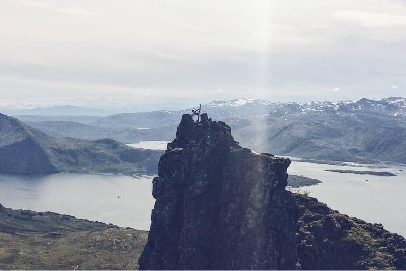 Utsikt mot Bergsfjorden