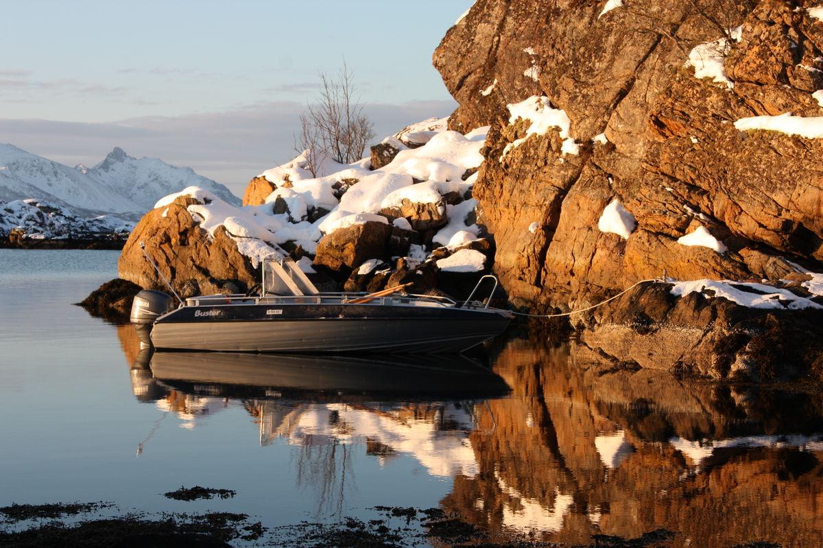Du kan komme sjøveien om du har båt!
