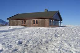 Berdalsbu i påsken - Foto: Aust-Agder Turistforening