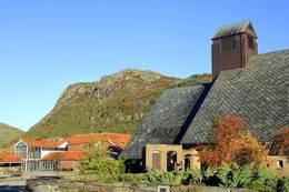 Alvanuten sett fra Aksdal senter - Foto: Lars Kr Gjerde