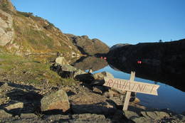 Ravatnet -  Foto: Stord og Fitjar turlag