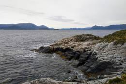 Utsikt mot Tustna og Vinjefjorden, hvor Fjordruta går. - Foto: Harald Atle Oppedal