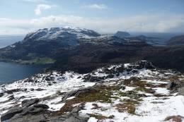 Utsikt fra Blåfjell -  Foto: Ukjent