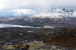 Utsikt mot Hamsunfjella - Foto: Kjell Fredriksen