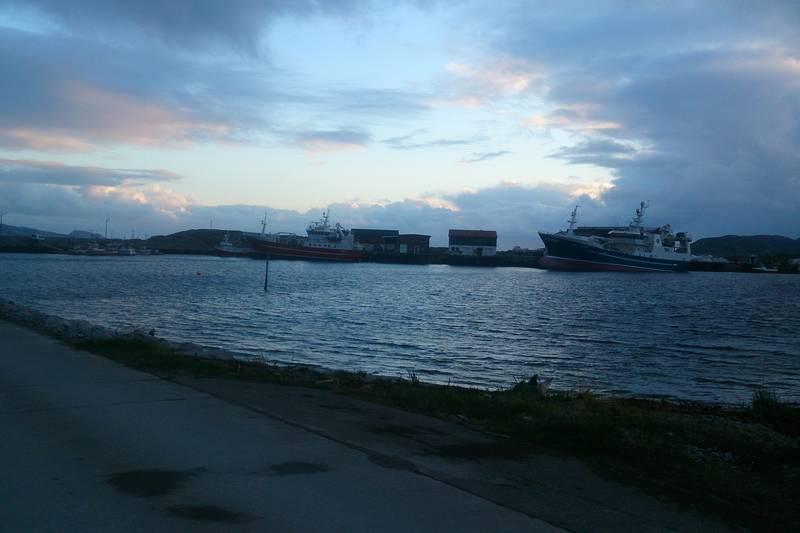 Fiskerihavna på Sandviksberget