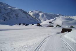 Mødal vinterstid. Klengenavnet er Negerlandsbyen. -  Foto: Panoramio