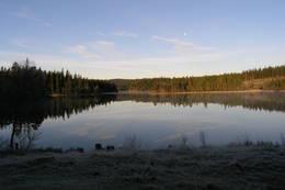 Utsikt over Råbjørn - Foto: Ukjent