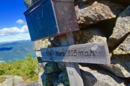 Turens fjelltopp -  Foto: Charlotte Braathen