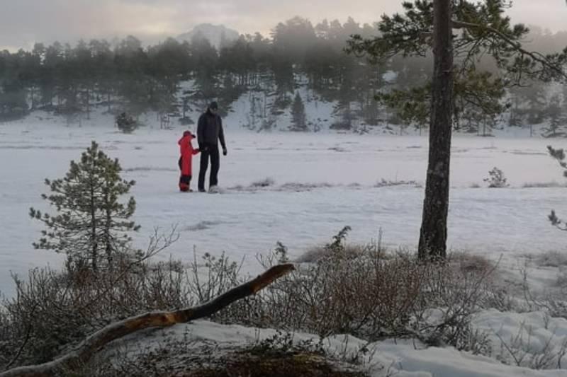 is på Åstjønna