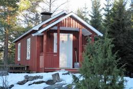 Vinter på Hannevoldhytta - Foto: Ulf Rødvik