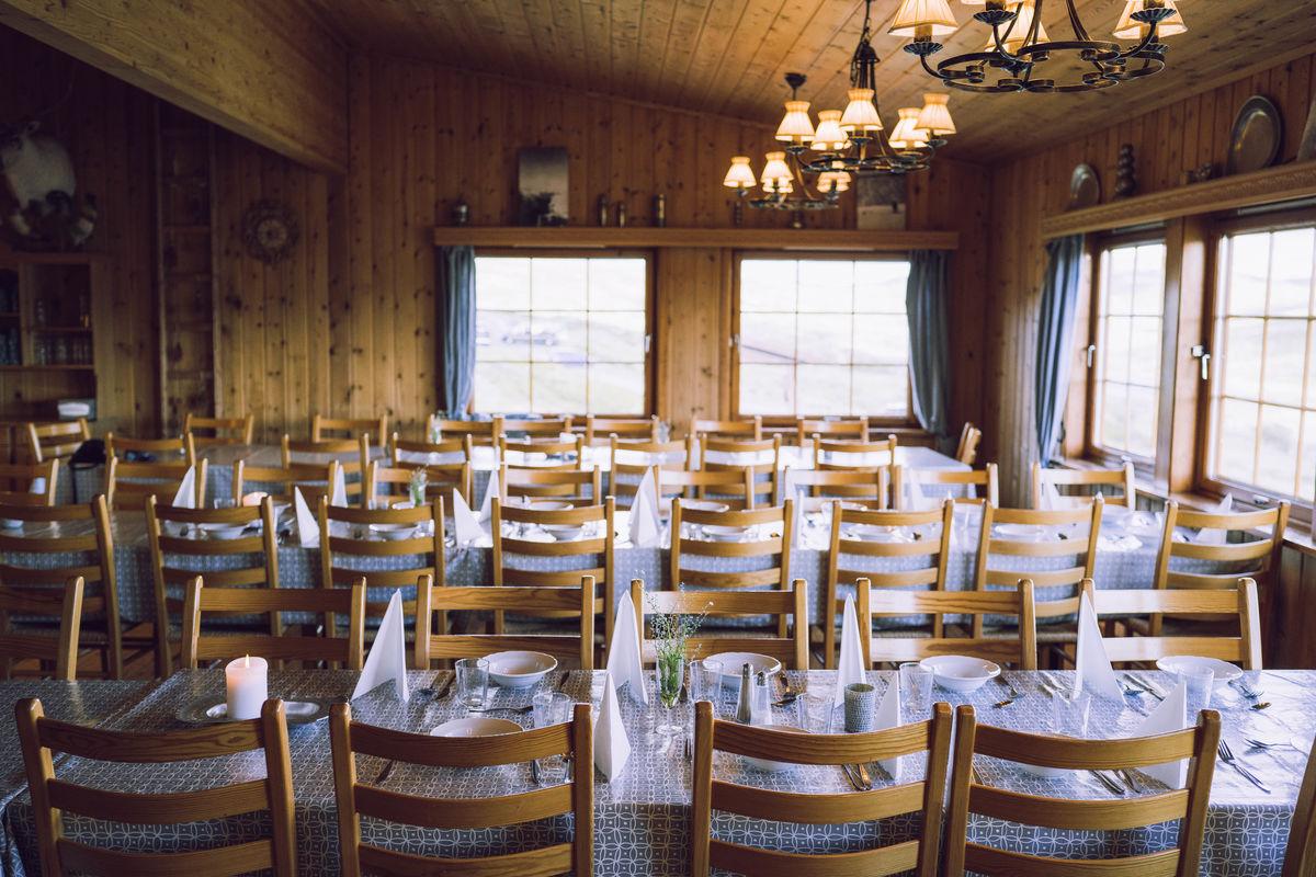 Spisesalen på Kalhovd