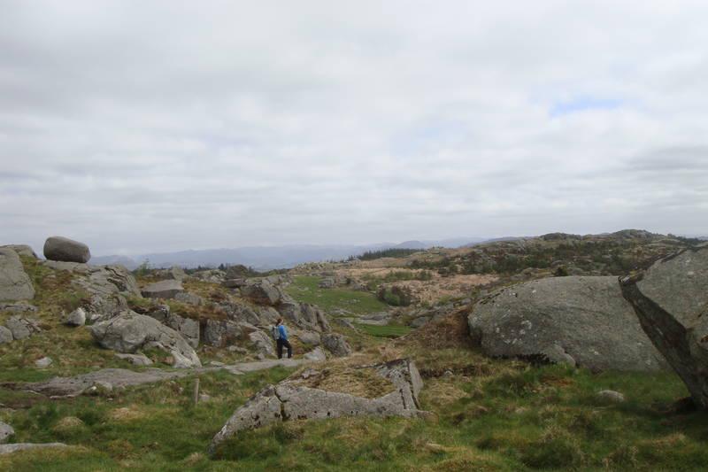 Flott utsikt fra Lyefjell