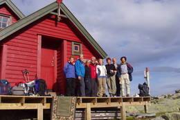 Turfølge før avmarsj fra Skavlabu - Foto: Ingvild Larsen