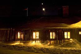 Kveld på Rondvassbu - Foto: Ukjent