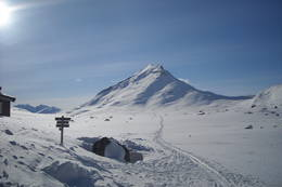 På tur fra Olavsbu til Fondsbu påska 2010 - Foto: Anne Katrine Straume