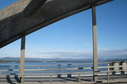 Utsikt fra Buøybrua -  Foto: Heidi Glesaaen
