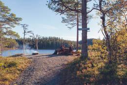 Mange fine rasteplasser - Foto: Steinkjerfotografen