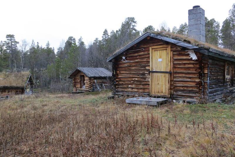 Lukket AN hytta