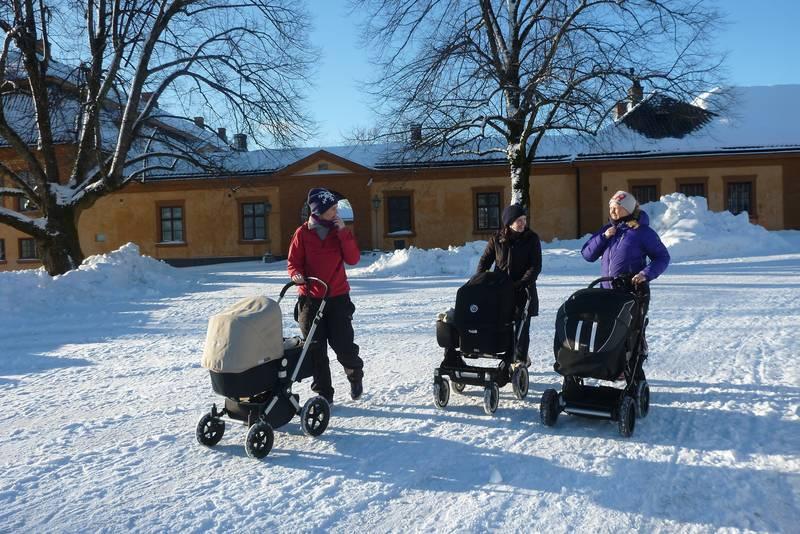 Bogstad Gård er også et fint turmål på vinteren