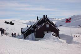 Vinteraktivitet ved Geiterygghytta - Foto: DNT Oslo og Omegn