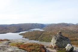 Utsikt fra Storeknut -  Foto: Christian Landmark
