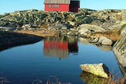 Høst ved Skavlabu - Foto: Bjørn-Olav Hagesether