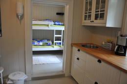 Kjøkkenet i 1. etasje mot soverom. - Foto: Pål Malm/DOT