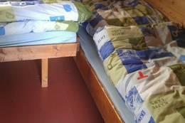 Soverommet har 5 senger - Foto: Linda Flem
