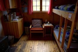 Anneks på Kvitfjellhytta - Foto: NTT