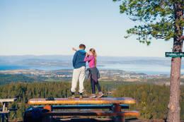 Nydelig utsikt - Foto: Steinkjerfotografen