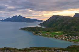 Utsikt mot Vengsøya - Foto: Lars Tiede