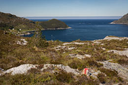 På vei opp til Blåfjellet - Foto: Svein-Magne Tunli