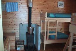 Interiøret har samme standard som på BOTs øvrige hytter - Foto: Andreas Pfeifer