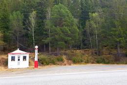 Start ved den gamle bensinpumpa i Sørkil - Foto: Kjell Fredriksen
