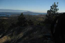 Utsikt mot Siggjo fra Dreng - Foto: Ukjent