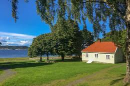 Hovedhuset. -  Foto: Ruth Ellegård