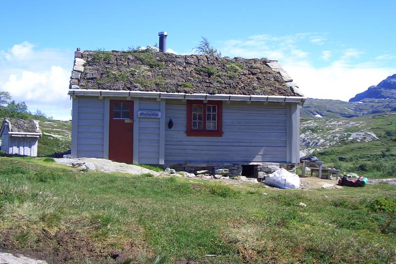 Mosdalsbu på Hardangervidda