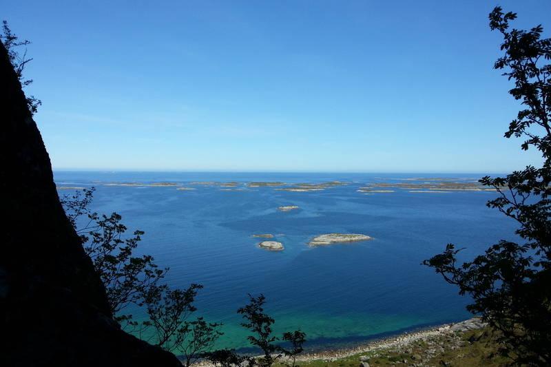 Utsikt fra Bolgbørra mot nord