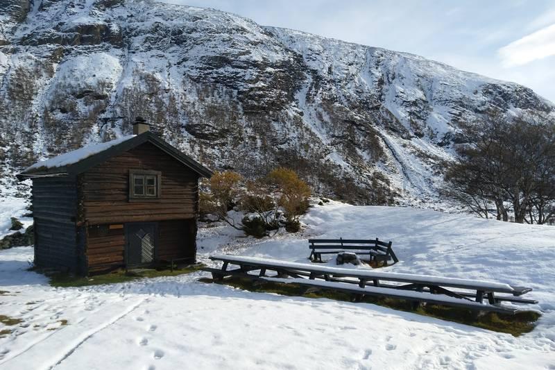 Stabburet, Vinterkvarteret i Grøvudalen