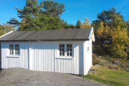 Hytte nummer 2 ligger svært solvendt med storslagen utsikt. - Foto: Frank-Werner Unsgaard