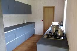 Kjøkkenet på hovedhytta - Foto: Lars K. Gjerde