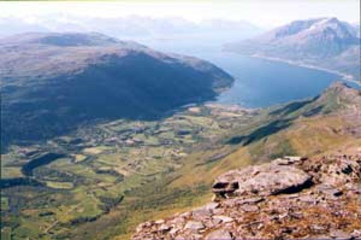 Storhaugen Stuorracohka I Manndalen Kafjord
