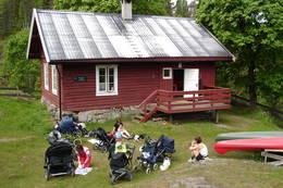 Trilletur til Øvresaga  - Foto: Ukjent