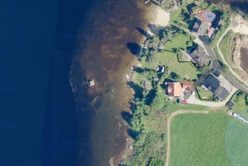 Strandsti øst: Støa
