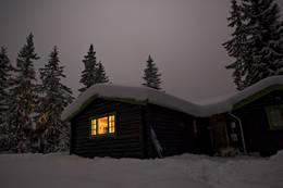 Vinterkveld ved Jørgenhytta  - Foto: Marius Nergård Pettersen