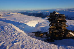 Roksdalskammen 1590 moh -  Foto: Oddveig Torve