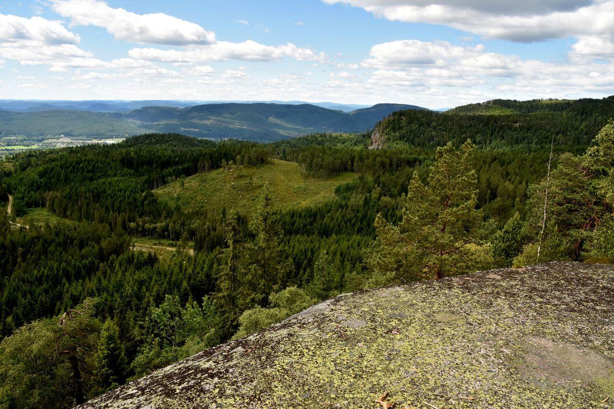 Fin utsikt fra Blåfjell