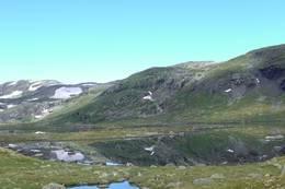 Utsikt ved Geiterygghytta - Foto: Stine Smemo