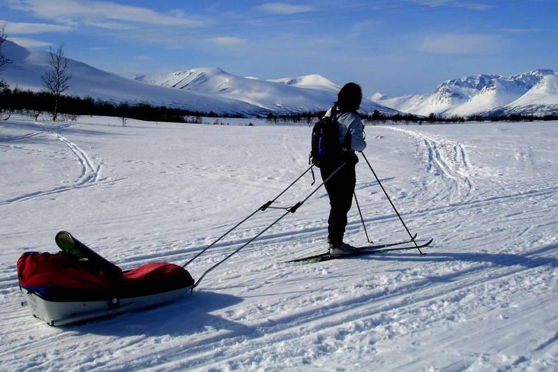 Gjevilvasshytta som utgangspunkt for spennende skiturer.